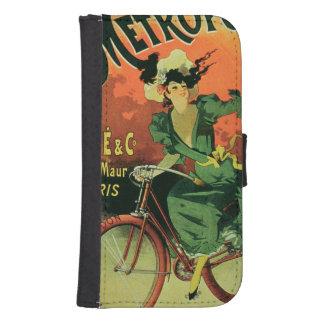 """""""Cycles de La Metropole"""", Marie y Co. (lith del Fundas Billetera De Galaxy S4"""