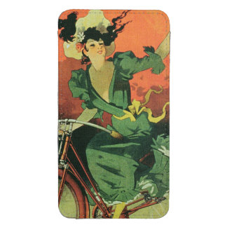 """""""Cycles de La Metropole"""", Marie y Co. (lith del Funda Para Galaxy S4"""