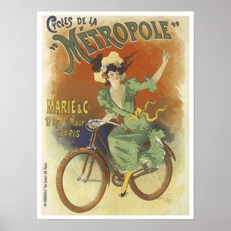 Cycles de la Metropole Poster