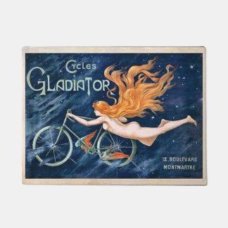 Cycles Gladiator by Georges Massias Vintage Doormat