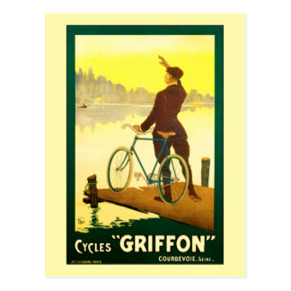 Cycles Griffon by Walter Thor Postcard