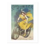 Cycles Humber Post Card