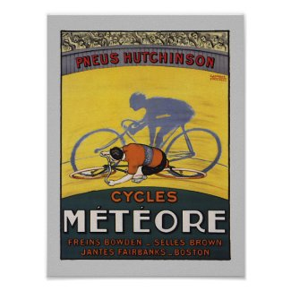 CYCLES METEORE POSTER