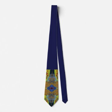 Professional Business Cycles Painting Graphic Print Tie