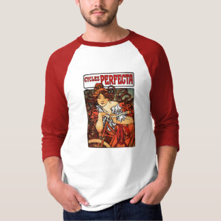 Cycles Perfecta 3/4 Sleeve Raglan T-Shirt