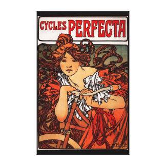 Cycles Perfecta Canvas Print