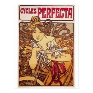 cycles perfecta postcard