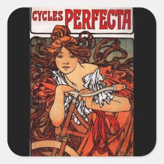 Cycles Perfecta Square Sticker