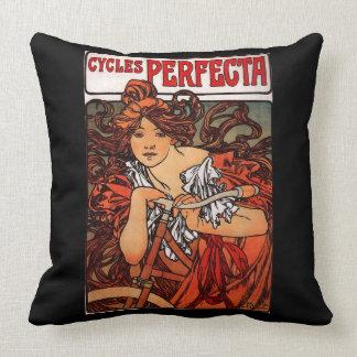 Cycles Perfecta Throw Pillow