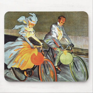 Cycles Peugeot Vintage Bicycle Art Mouse Pads