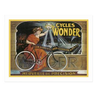 Cycles Wonder Merveille de Precision Post Cards