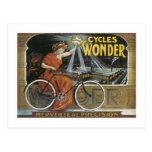 Cycles Wonder Post Card