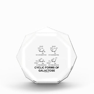 Cyclic Forms Of Galactose (Molecule Structure) Awards