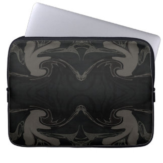 Cyclic print Neoprene Laptop Sleeve 13 inch