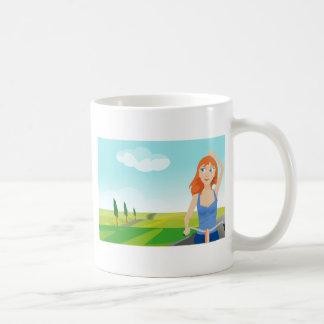 cycling-148988 coffee mug