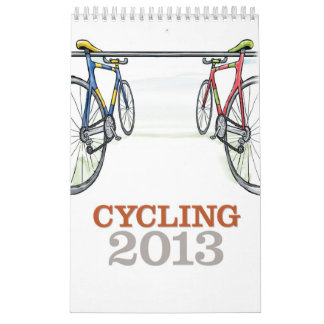 Cycling 2013 - Calendar for Cylicsts - Vertical