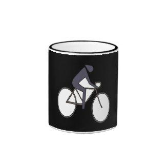 Cycling 5 ringer mug