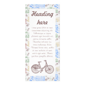Cycling Aarhus, customizable Custom Rack Cards