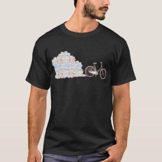 Cycling Aarhus, dark coloured t-shirts