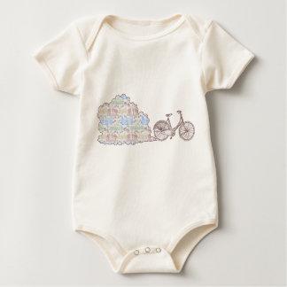 Cycling Aarhus, kids and babies t-shirts