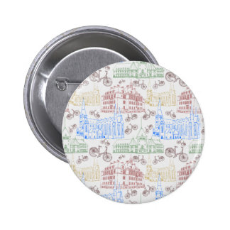 Cycling Aarhus, patterned Pin