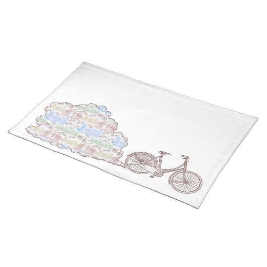 Cycling Aarhus, placemat