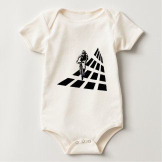 Cycling Abstract Baby Bodysuit