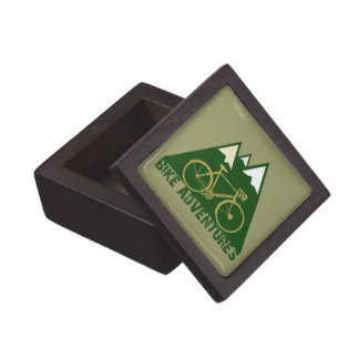 cycling adventure - bikes keepsake box