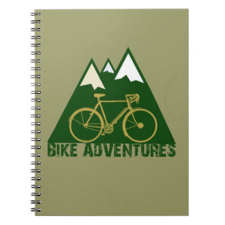 cycling adventure - bikes notebook