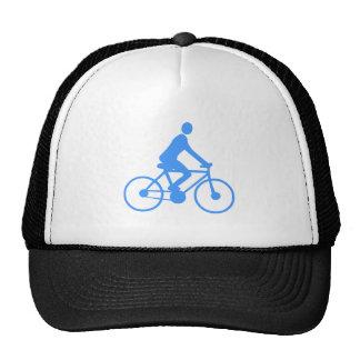 Cycling - Baby Blue Mesh Hat