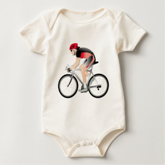 Cycling Baby Bodysuit