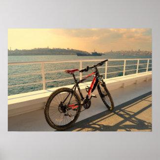 Cycling & Battleship Poster