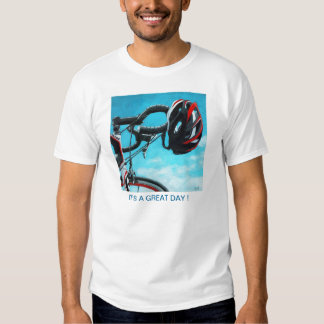 Cycling Bicycle Art sports exercise enjoyment T-shirt