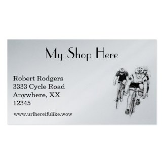 Cycling / Bicycle Race Business Card