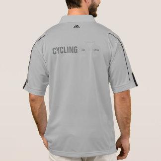 cycling . bike-lifestyle polo shirt