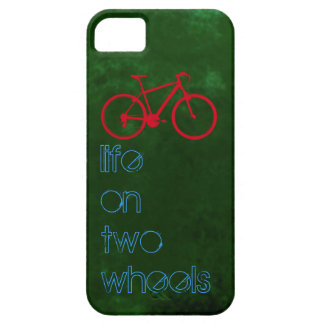 cycling bikes -  two wheels iPhone 5 cover