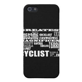 Cycling Biking & Cyclists : Greatest Cyclist World iPhone 5 Cover