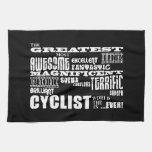 Cycling Biking & Cyclists : Greatest Cyclist World Towel