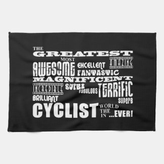 Cycling Biking & Cyclists : Greatest Cyclist World Kitchen Towel