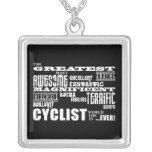 Cycling Biking & Cyclists : Greatest Cyclist World Necklace