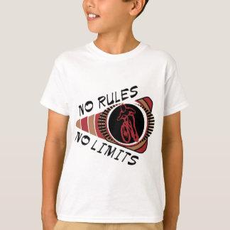 Cycling BMX No Rules No Limits T-Shirt