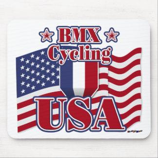 Cycling BMX USA Mouse Pad