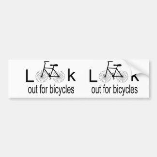 Cycling Bumper Sticker Car Bumper Sticker