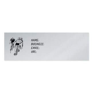 Cycling Business Card Pack Of Skinny Business Cards