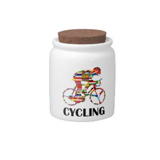 Cycling Candy Dish