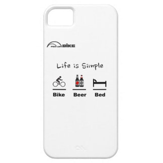 Cycling Case - Life is Simple - Bike - Beer - Bed