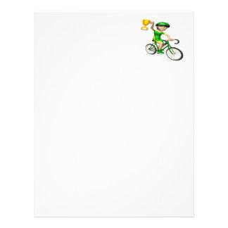 Cycling Champion 2 Custom Letterhead