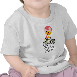 Cycling Chick Infant Baby T-shirt