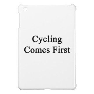 Cycling Comes First iPad Mini Case