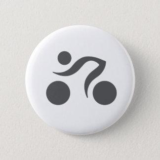 Cycling cool logo button